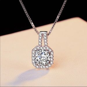 Jewelry - Sterling Silver 925 CZ Necklace
